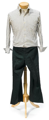 A Sammy Davis Jr. shirt and pants