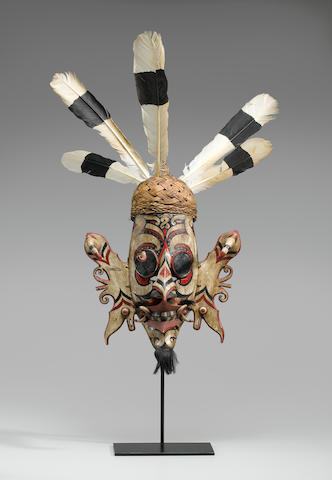 Dance Mask, Kayan Dayak, East Kalimantan, Borneo