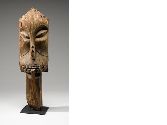 Ritual Gaurdian Figurative Post, Ot Danum Dayak, Central Kalimantan, Borneo Island