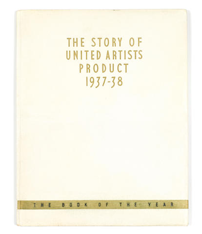 UA Promo Book (The Story of United Artists Product), 1937-38