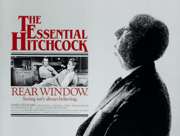 A pair of Rear Window and Vertigo posters
