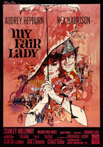 My Fair Lady - Grande French Printing. Framed