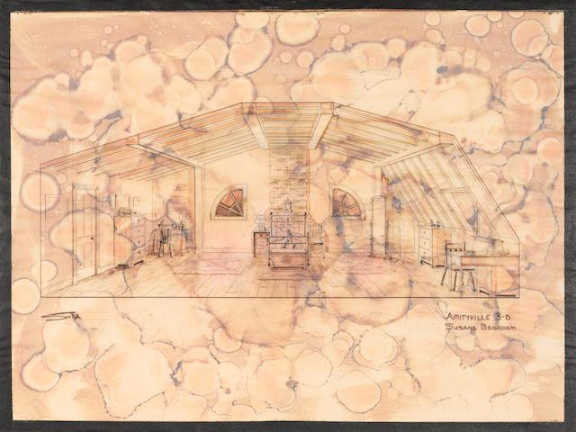 An Amityville 3-D scene study