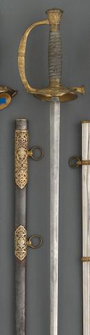 A deluxe presentation U.S. Model 1860 staff & field officer's sword