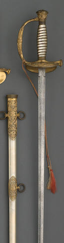 A deluxe presentation U.S. Model 1860 staff & field officer's sword