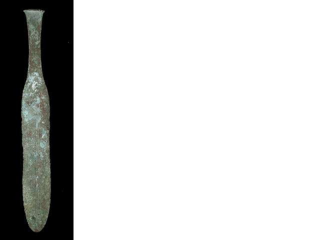 A Near Eastern Bronze Age votive dagger