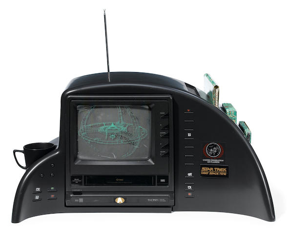 A Star Trek: Deep Space Nine command console created as a promotional resource for TV stations involved in the series launch