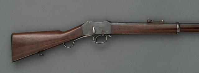 A Providence Tool Co. Turkish Contract Peabody & Martini patent action rifle