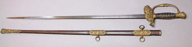A scarce Sons of Veterans of the Civil War sword