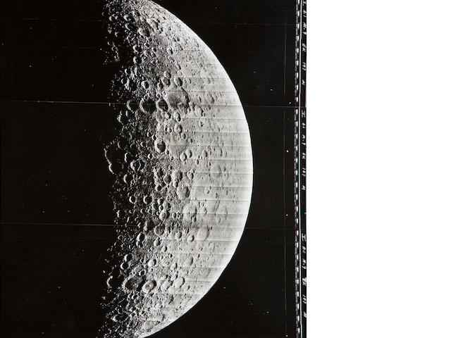 LUNAR ORBITER V. View of..., M9, August 6, 1967,