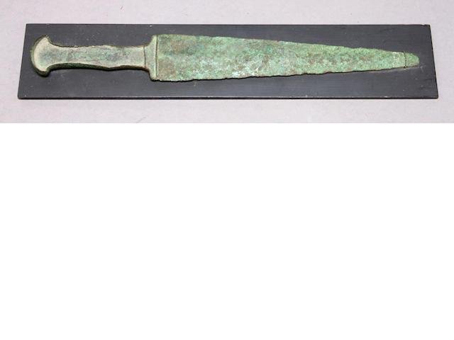 A Persian Bronze Age dagger