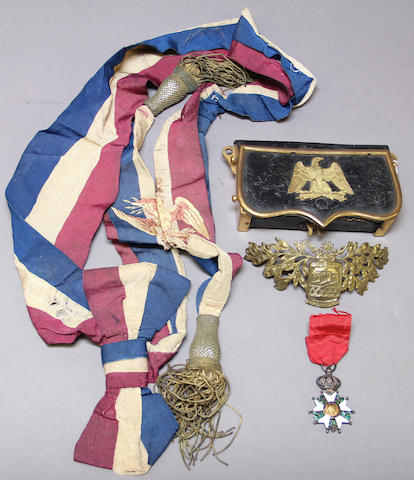 A group of French militaria