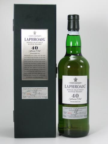 Laphroaig 40 year old (1)