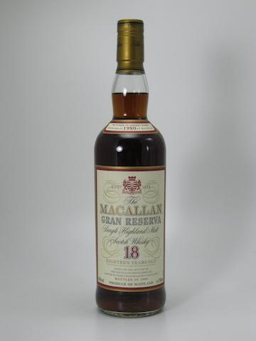 Macallan Gran Reserva 1980- 18 year old (1)