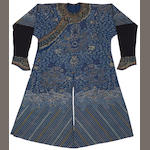 A late Qing gauze summer robe
