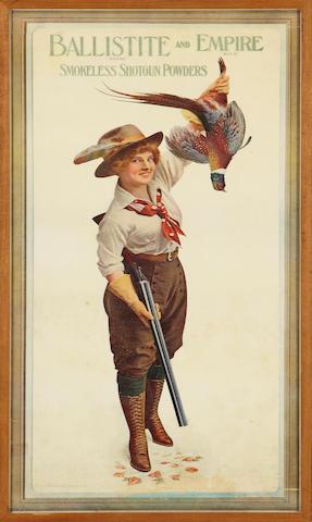 A Ballistite and Empire Smokeless Shotgun Powders poster