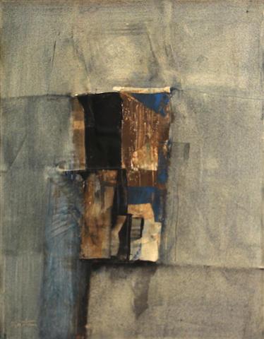 Karl Kasten (American, 1916-2010) Malta, 1965 19 3/4 x 15 1/4in