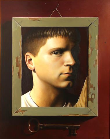 Jacob A. Pfeiffer (American, born 1974) Self reflection, 1999 16 x 12in