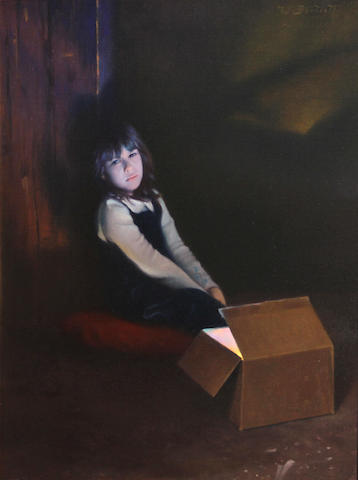William Bartlett (American, born 1960) Hope, 2003 22 x 18in