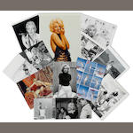 A large archive of Marilyn Monroe photographs