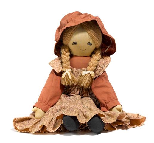 An Amityville 3-D doll prop