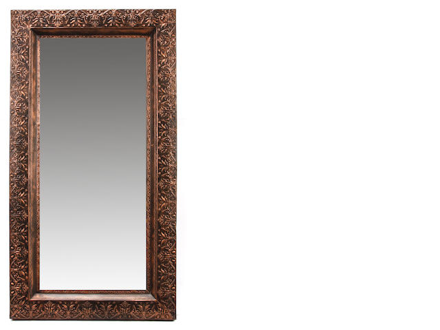 A large pair of Baroque style mirrors