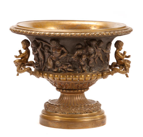 A Continental Baroque style jardinière
