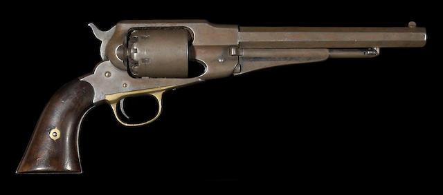 A Remington New Model Army percussion revolver