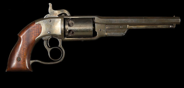 A Savage & North percussion navy revolver