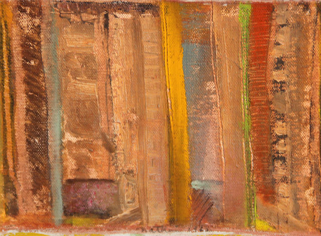 Robert Natkin (American, 1930-2010) Untitled, 1962 6 x 7 1/4in