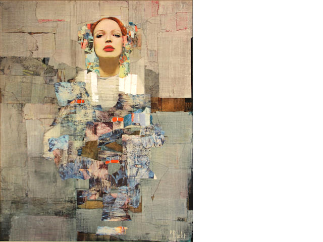 Richard Burlet (French, born 1957) Titian 28 3/4 x 23 1/2in