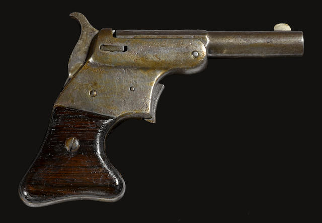A scarce Stevens Vest Pocket pistol