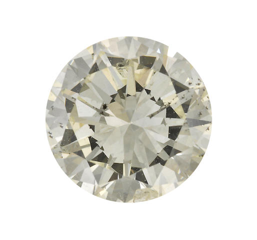 An unmounted diamond