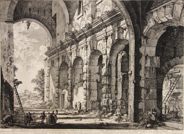 Giovanni Battista Piranesi (1720-1778); Veduta del Piano, from Vedute di Roma;