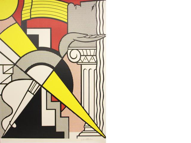 Roy Lichtenstein (American, 1923-1997); Stedelijk Museum Poster;