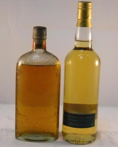 """Old Irish Whiskey"" (1) <BR /> Slaney Malt 1991- 9 year old (1)"