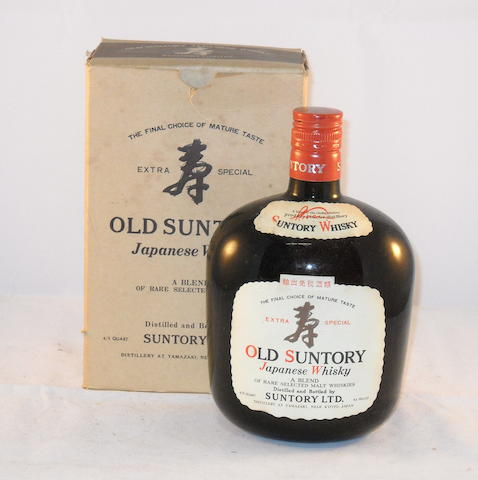 Old Suntory Japanese Whiskey (1)