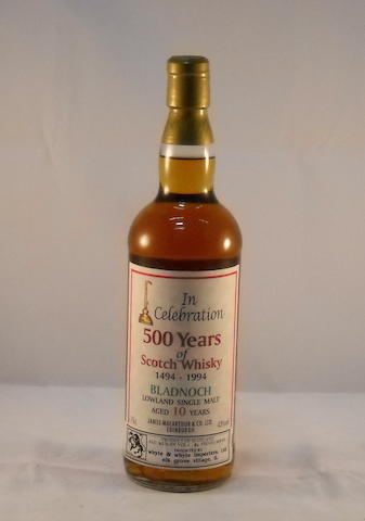 Bladnoch 10 year old (1)