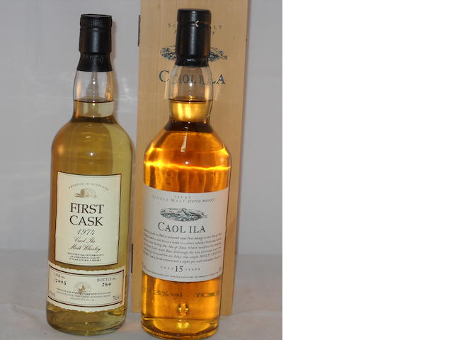 Caol Ila 1974- 19 year old (1) <BR /> Caol Ila 15 year old (1)