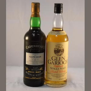 Glen Garioch 8 year old (1) .  Glencadam 1980- 12 year old (1)