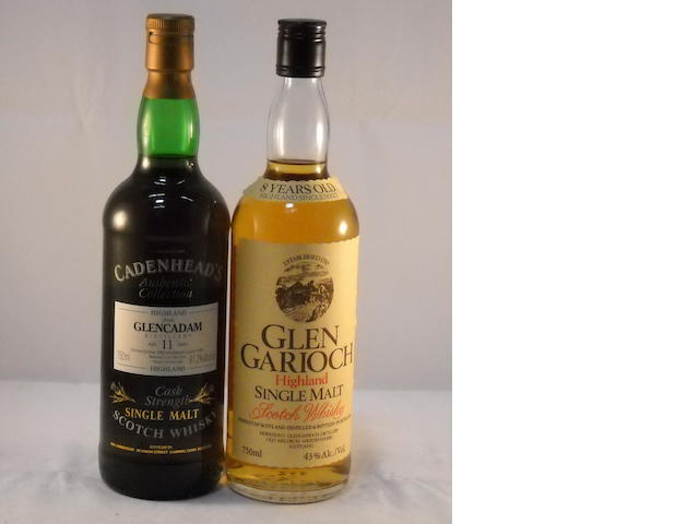 Glen Garioch 8 year old (1) <BR /> Glencadam 1980- 12 year old (1)