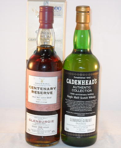 Glenburgie 1948- 47 year old (1) <BR /> Glenburgie 1978- 13 year old (1)