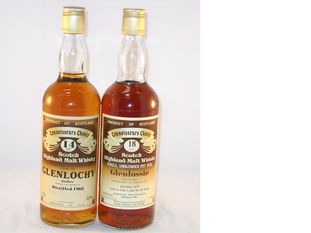 Glenlochy 1968- 14 year old (1) <BR /> Glenlossie 1970- 18 year old (1)