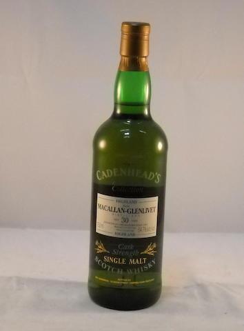 Macallan-Glenlivet 1963- 30 year old (1)