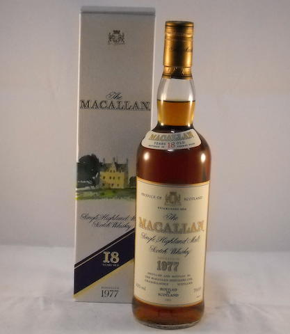 Macallan 1977- 18 year old (1)