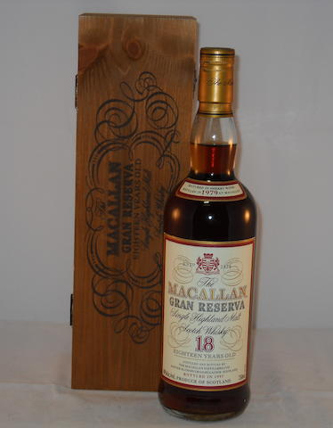 Macallan Gran Reserva 1979- 18 year old (1)
