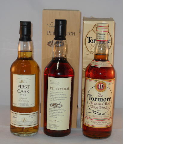 Macallan 1975- 20 year old (1) <BR /> Pittyvaich 12 year old (1) <BR /> Tormore 10 year old (1)