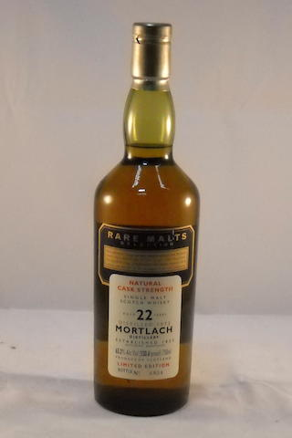 Mortlach 1972- 22 year old (1) <BR /> Mortlach 12 year old (1)