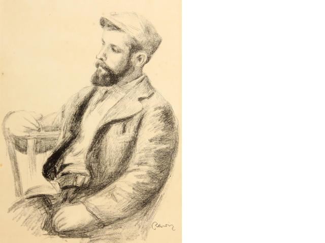 Pierre-Auguste Renoir (French, 1841-1919); Ambroise Vollard, from L'Album des Douze Lithographies;