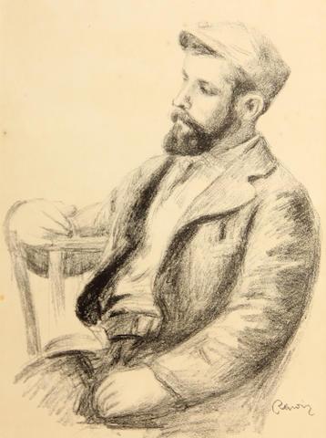 Pierre-Auguste Renoir (French, 1841-1919); Ambroise Vollard, from L'Album des Douze Lithographies;